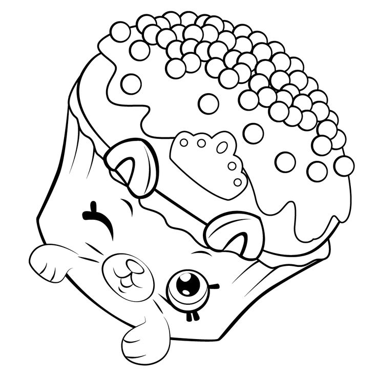 273 Best Cartoon Coloring Pages Images On Pinterest Shopkins Season 6 Coloring Pages