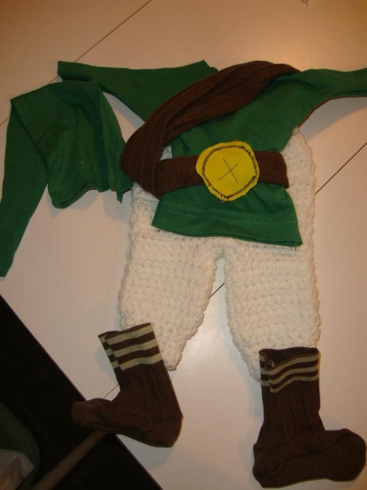 Custom made Legend of Zelda Link Costume  $30