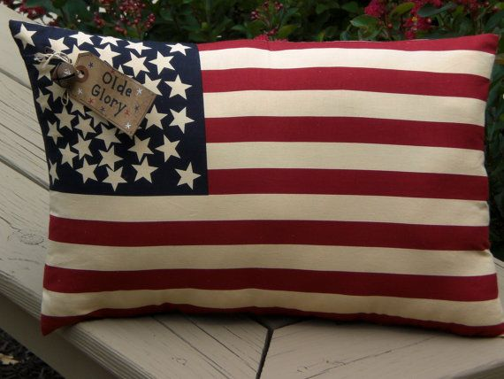 July 4th pillow