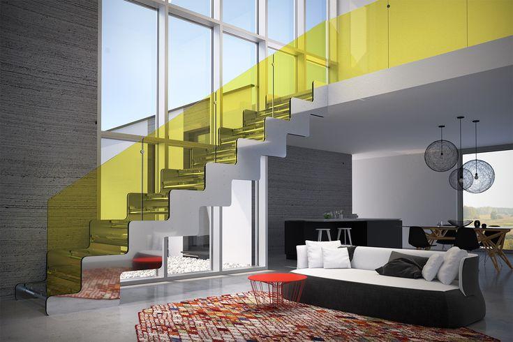 JOY - open stair version