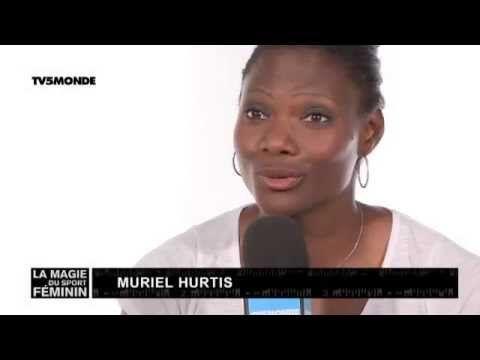 La magie du sport féminin avec Muriel Hurtis, Athlète - multiple championne du monde et d'Europe du 200m, 4x100m et 4x400m entre 2003 et 2014. Médaillée de bronze olympique en 2004 aux JO et championne d'Europe au relais 4x400m.