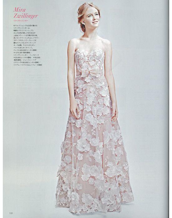 #NOVARESE #ノバレーゼ #ELLEmariage #エルマリアージュ#wedding #dress #Beatrice #Mira Zwillinger #ベアトリス #アンジェリーナ