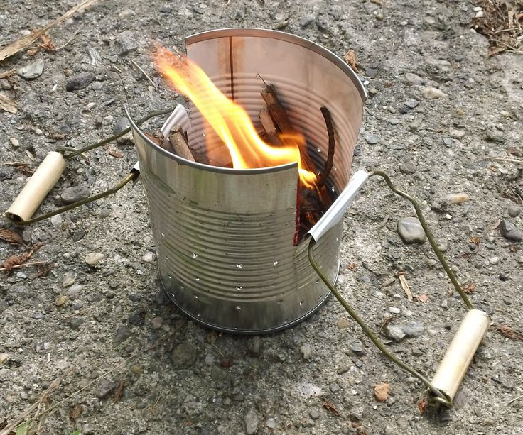 1000 ideas about survival stove on pinterest wood gas for Diy camp stove