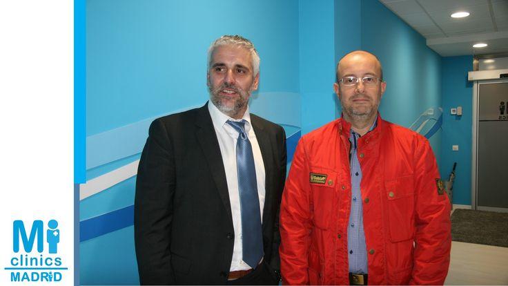 Javier Pérez, gerente de Mi Medical, y amigo