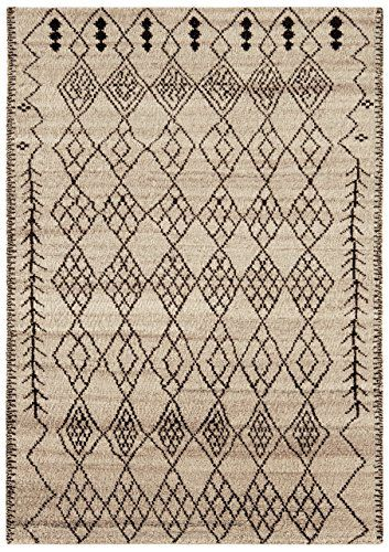 Teppich Wohnzimmer Orient Carpet Design AMIRA MOROC CAN RUG 100 - Teppich Wohnzimmer Braun