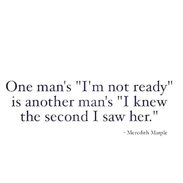 He's not worth waiting for to be ready.. know your worth!