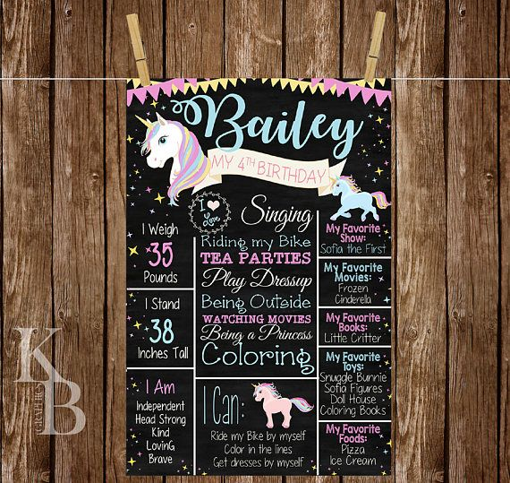 Hey, I found this really awesome Etsy listing at https://www.etsy.com/listing/524943225/unicorn-first-birthday-poster-unicorn