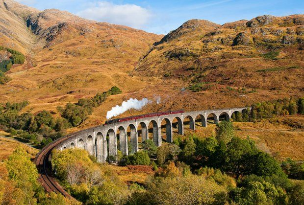 Wiadukt w Szkocji