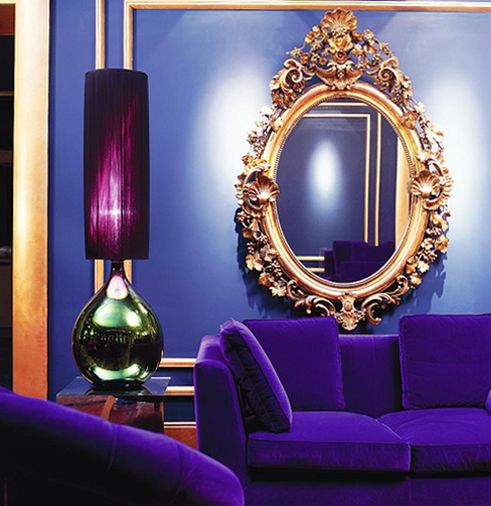 253 Best Images About Combo Of Blue Purple Interior Exterior Decorating