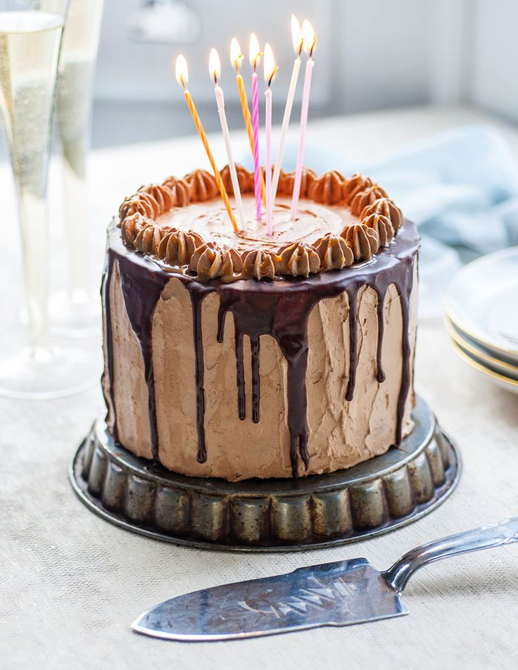 Chocolate cake with salted caramel Italian meringue buttercream (submitted by supergoldenbakes)