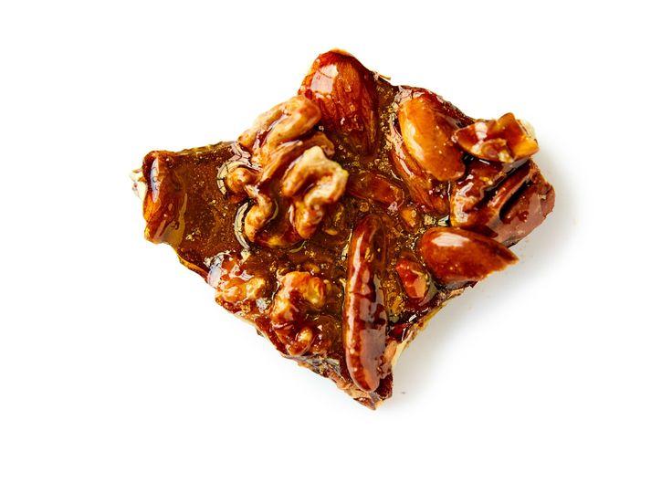 Salted Caramel Nuts recipe from Ina Garten via Food Network