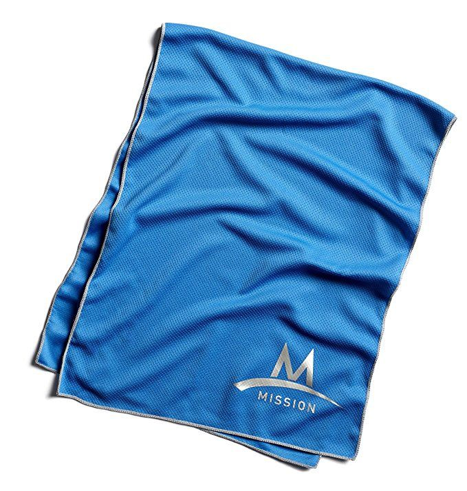 Amazon Com Mission Enduracool Techknit Cooling Towel Sports