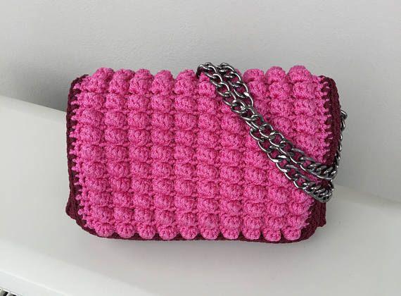 Handmade Bags Crochet bags Made in Greece Handbags Luxury