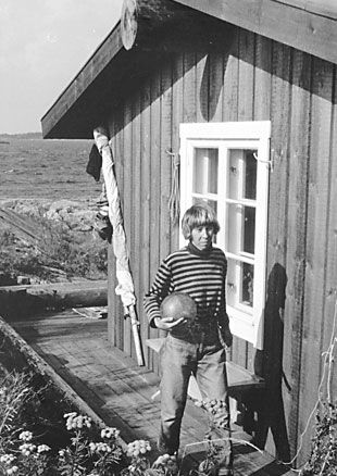 The amazing Tove Jansson. Really an incredible writer and artist. One if the women I most admire.
