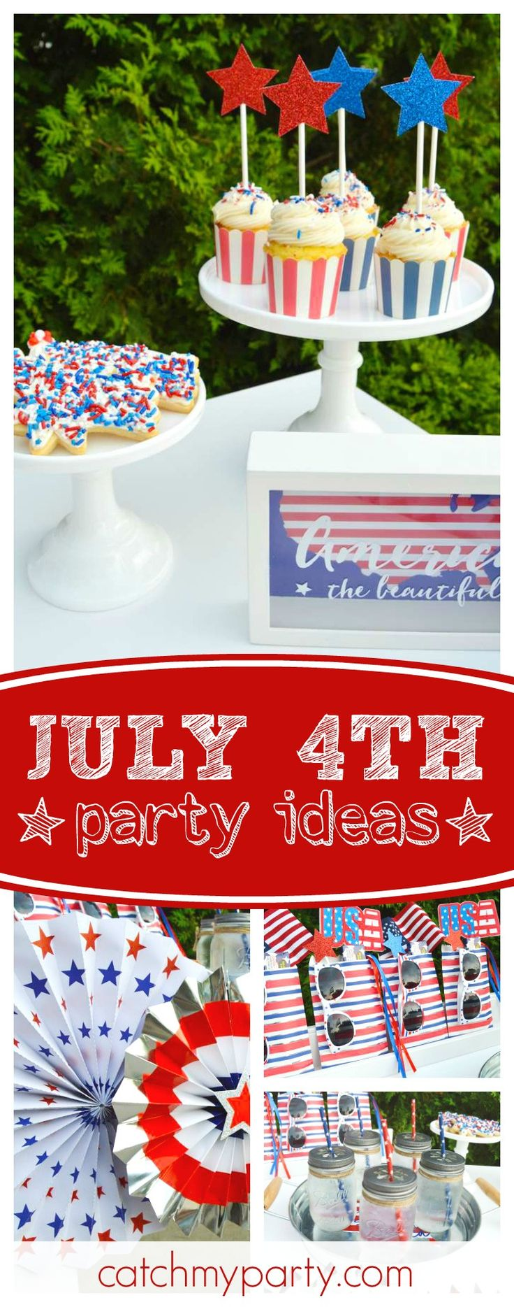1124 best summer party planning ideas images on pinterest for 4th of july celebration ideas
