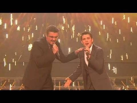 The X Factor 2009 - Joe & George Michael: Dont Let The Sun - Live Show 10 (itv.com/xfactor)