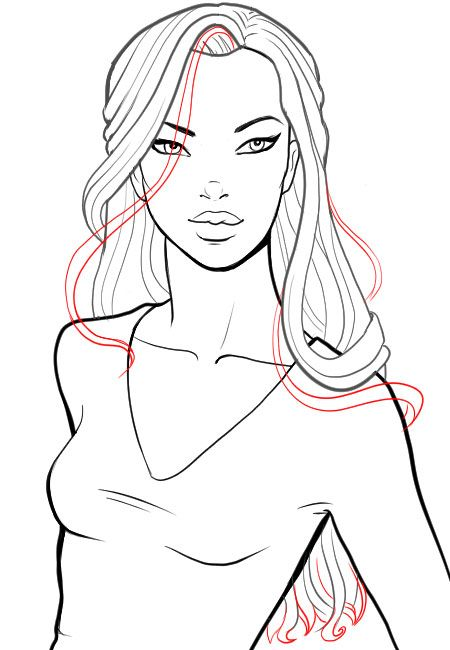 17 best ideas about drawing hair tutorial on pinterest