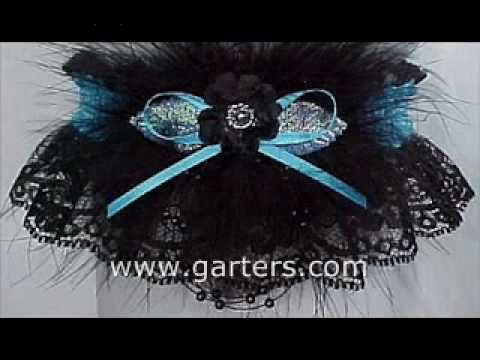 Destination: Swank & Style. Black Lace Prom Garters in 175 Colors to match your Prom Dress. Keep the Prom Garter Tradition. Garters for Prom - Wedding - Bridesmaid - Fashion.