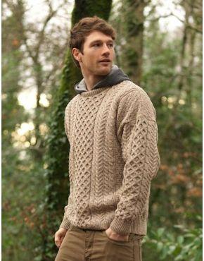 Merino Aran Sweater