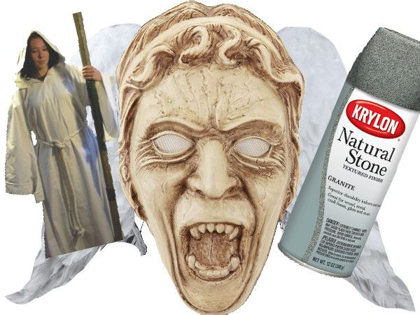 Get some of the pieces you're missing for your DIY Weeping Angel costume at RaggedyFan.com http://raggedyfan.com/diy-weeping-angel-ideas/