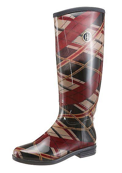 *Werbung* Tommy Hilfiger Gummistiefel günstig kaufen | BAUR #Schuhe #Gummistiefel #Stiefel #Britian #England