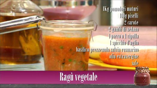 Ragú Vegetale!  http://video.gamberorosso.it/it/ricette/ragu-vegetale