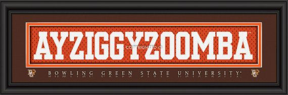 Bowling Green State University by DecadeAwards on Etsy, $49.95