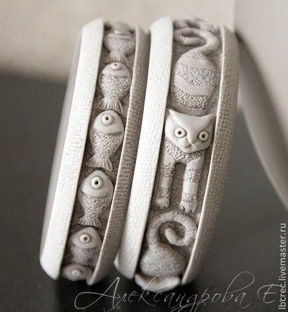 Браслеты ручной работы из полимерной глины евгении александровой