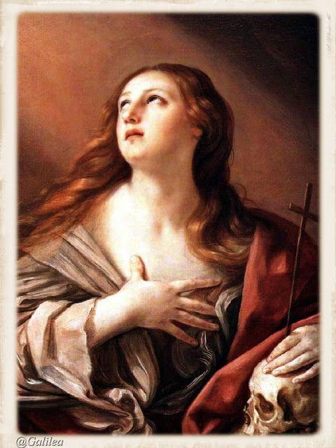 Santa María, Madre de Dios y Madre nuestra: Santa María Magdalena 22 de Julio