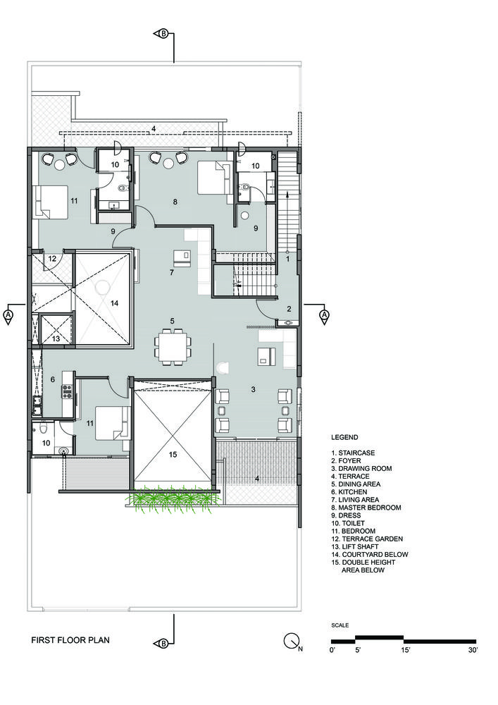 Residence 414 Charged Voids Floor Plan Design House Floor Plans Floor Plans