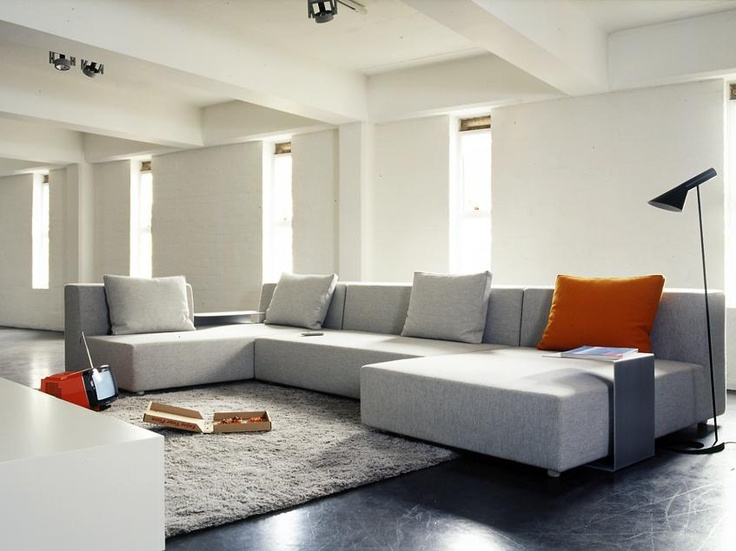 MAP - Low Fat Sofa  Generous in proportion with wide arms and deep tailoured seats, the Low Fat embodies the current world trend for large scale lounge seating. Map Internationals trademark loose box cushions give added support and comfort.
