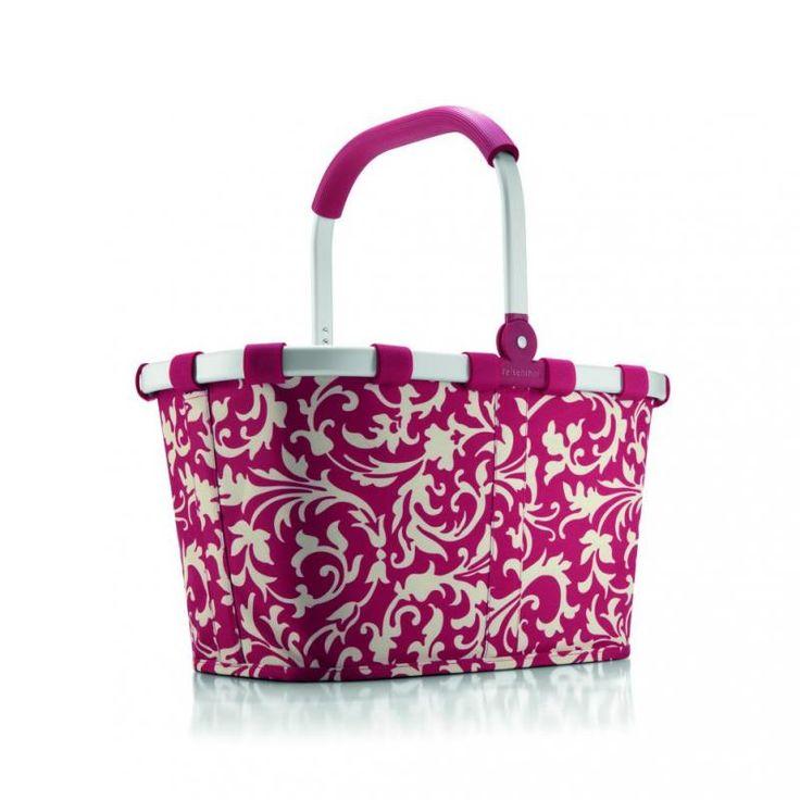 Koszyk carrybag baroque ruby - DECO Salon #reisenthel #basket #shoping #giftidea  #bag #homeaccessories