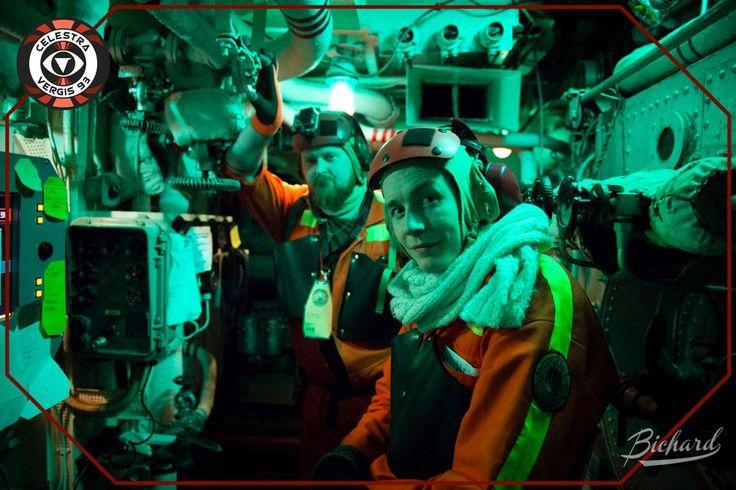 Galactica hardware engineers in the reactor control room. Photo: John-Paul Bichard (CC-NC-ND)