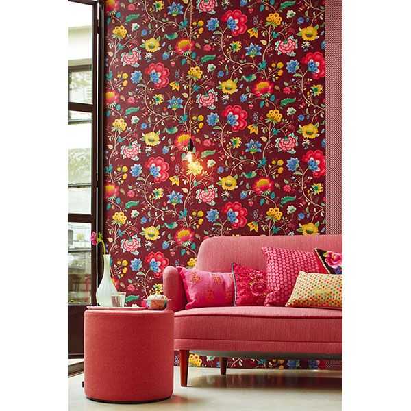 Best 25 Dark red wallpaper ideas on Pinterest William morris