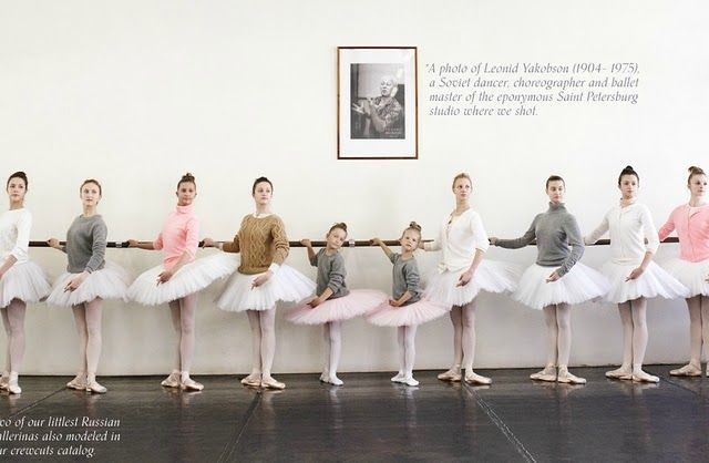 totally obsessed with this J Crew/Ballet campaign...