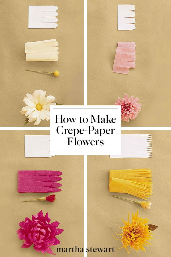How To Make Crepe Paper Flowers Crepe Paper Flowers Paper
