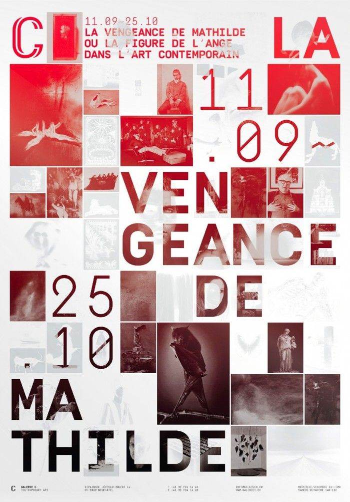 Galerie C 2014–2015 - Fonts In Use