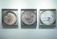 "Glen Onwin  ""The Recovery Of Dissolved Substances"" 1978 Arnolfini, Bristol. Fruitmarket Gallery, Edinburgh."