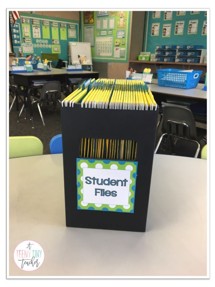 Student files storage