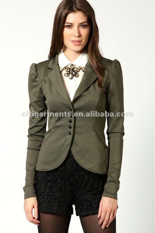 Venta caliente de moda mujer de buceo blazer/chaqueta/alta chaquetas de moda-Trajes y Esmóquines-Identificación del producto:679553948-spanish.alibaba.com