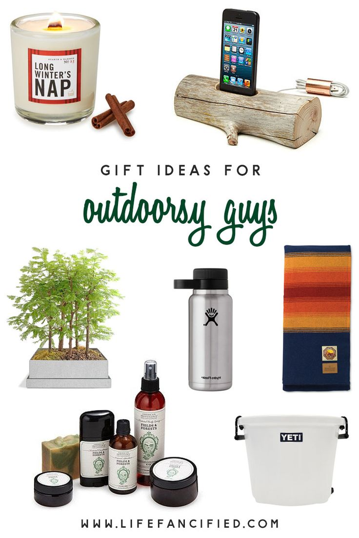 7 gift ideas for outdoorsy guys gifts outdoorsman gifts