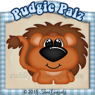 Pudgie Palz-Lion