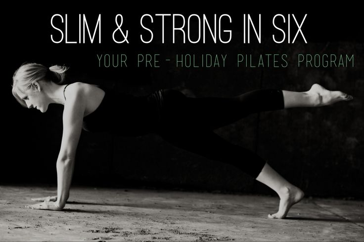 6 weeks of online Pilates workouts to stay in shape from home over the holidays! Kicks off 11/11.