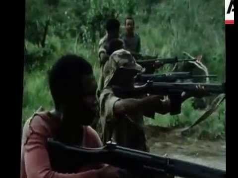 Tropas da UNITA em treinos militares 24.01.1976 - Imagens Inéditas