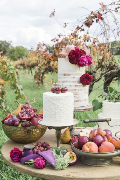 Fall dessert table: http://www.stylemepretty.com/australia-weddings/western-australia-au/2015/07/14/glamorous-romantic-wedding-inspiration/ | Photography: Anthea Auld - http://www.antheaauldphotographer.com.au/