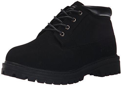 Fila Women's Luminous Hiking Boot, Black/Black/Black, 7 M Us