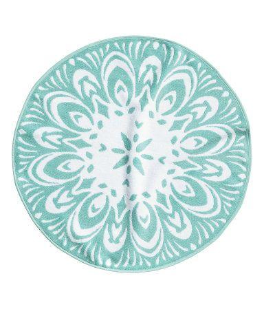 Bath mat | £12.99 | H&M GB | reminds me of Frozen!