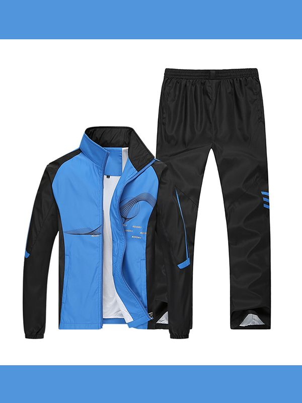 Men's jogging suits autumn running sportswear tracksuits