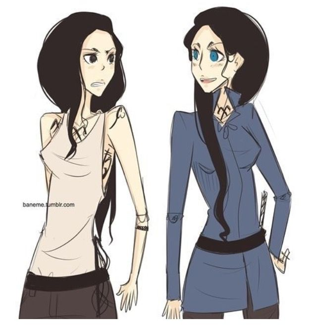 Image result for isabelle lightwood cecily herondale