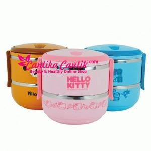 Jual Rantang Stainless Karakter 2 Susun. Rantang 2 Susun Tempat Kotak Makan Stainless Lunch Box Karakter Hello Kitty Doraemon Rilakkuma dll. **Selengkapnya: http://c-cantik.me/pp0 **Order Cepat: http://m.me/cantikacantik.id  KONTAK KAMI DI - PIN BBM 2A8FB6B4 - SMS / WA 081220616123 Untuk Fast Response